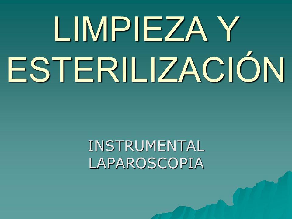 LIMPIEZA Y ESTERILIZACIÓN