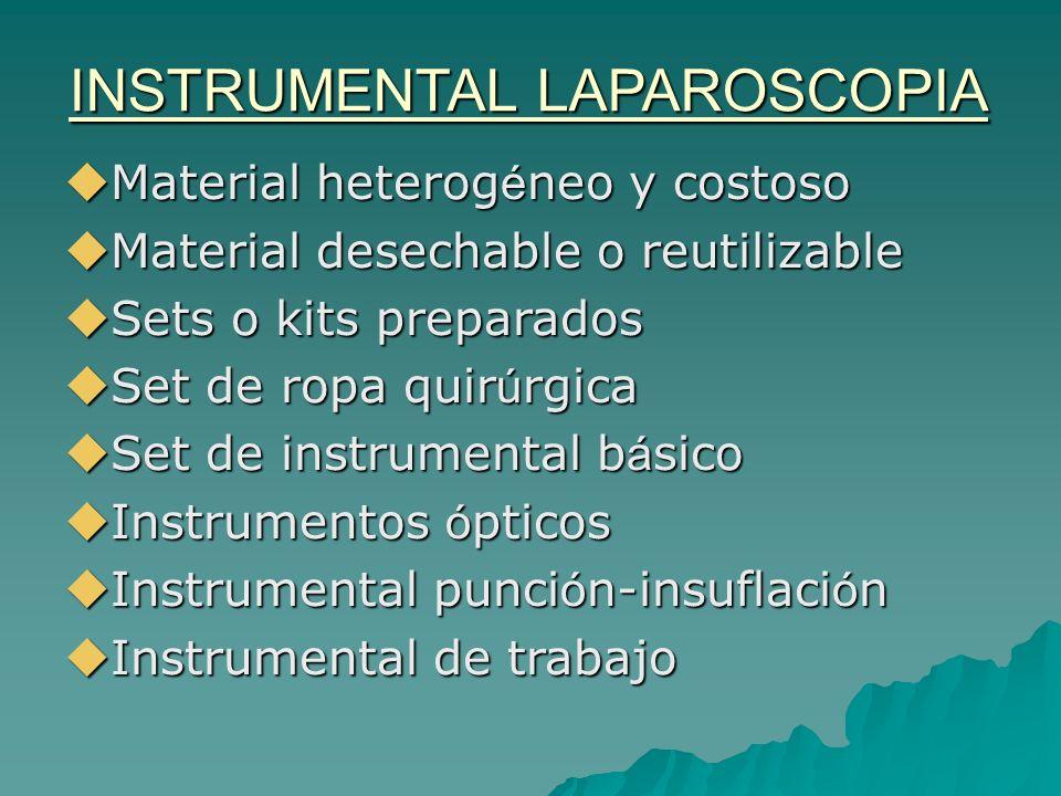 INSTRUMENTAL LAPAROSCOPIA