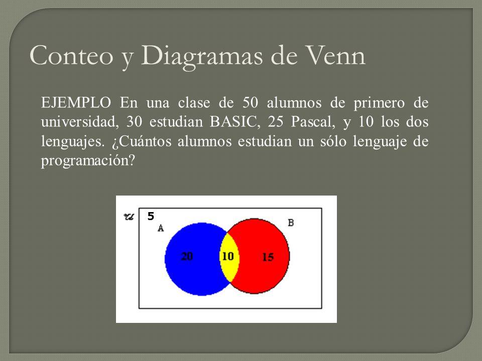 Matemticas discretas ppt descargar conteo y diagramas de venn ccuart Image collections