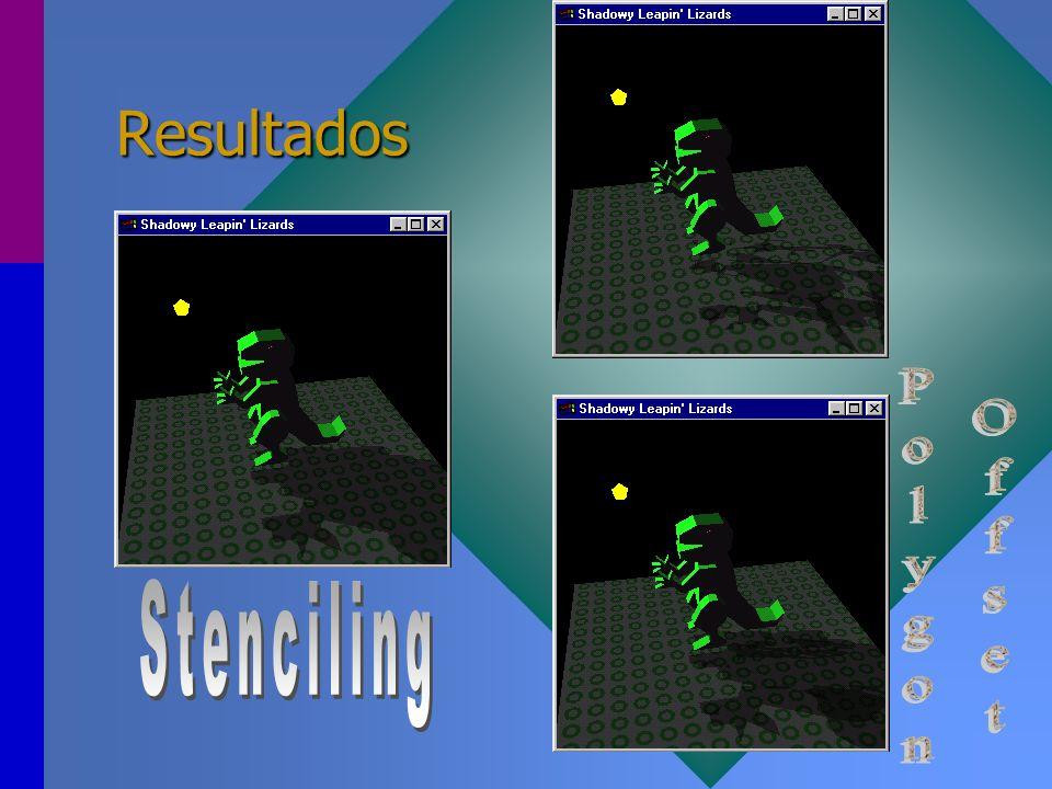 Resultados Polygon Offset Stenciling