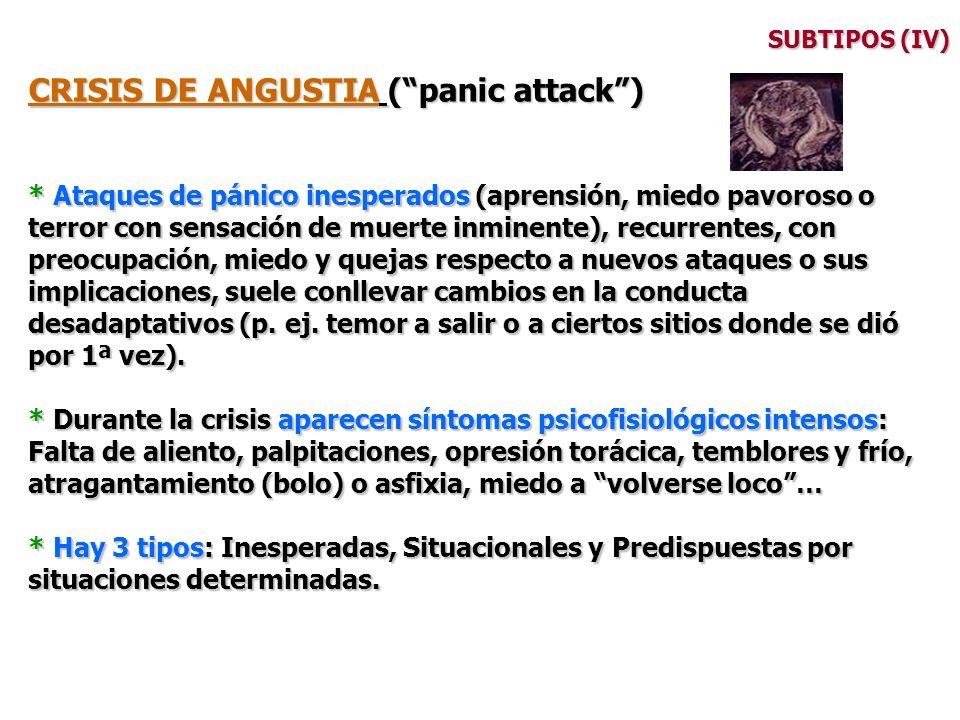 CRISIS DE ANGUSTIA ( panic attack )