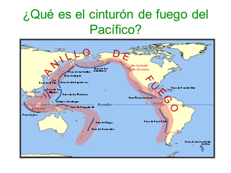 ¿Qué es el cinturón de fuego del Pacífico