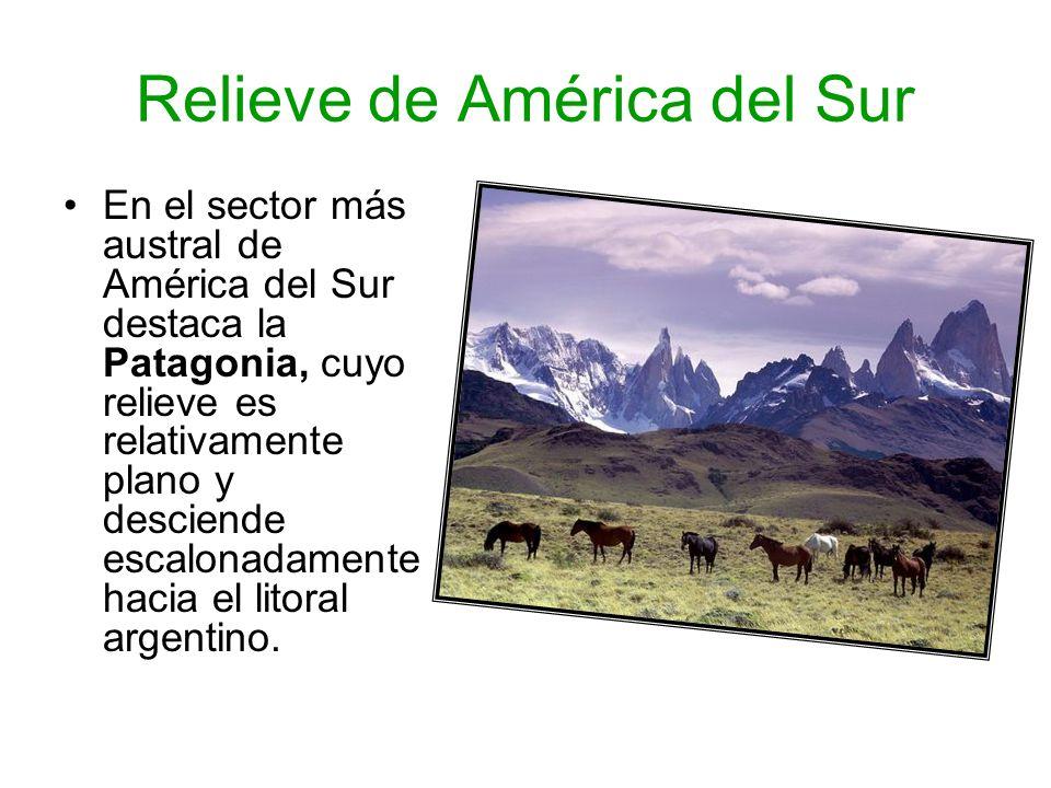 Relieve de América del Sur