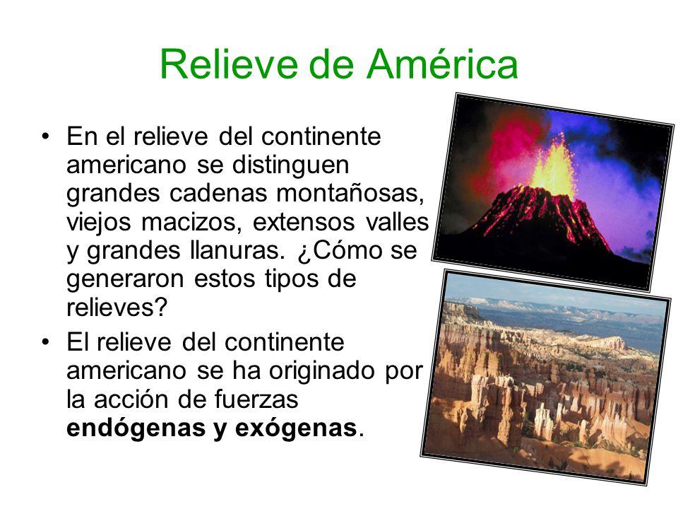 Relieve de América