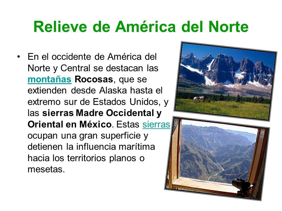 Relieve de América del Norte