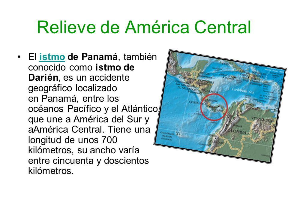 Relieve de América Central