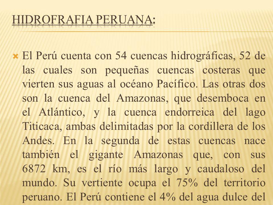 HIDROFRAFIA PERUANA: