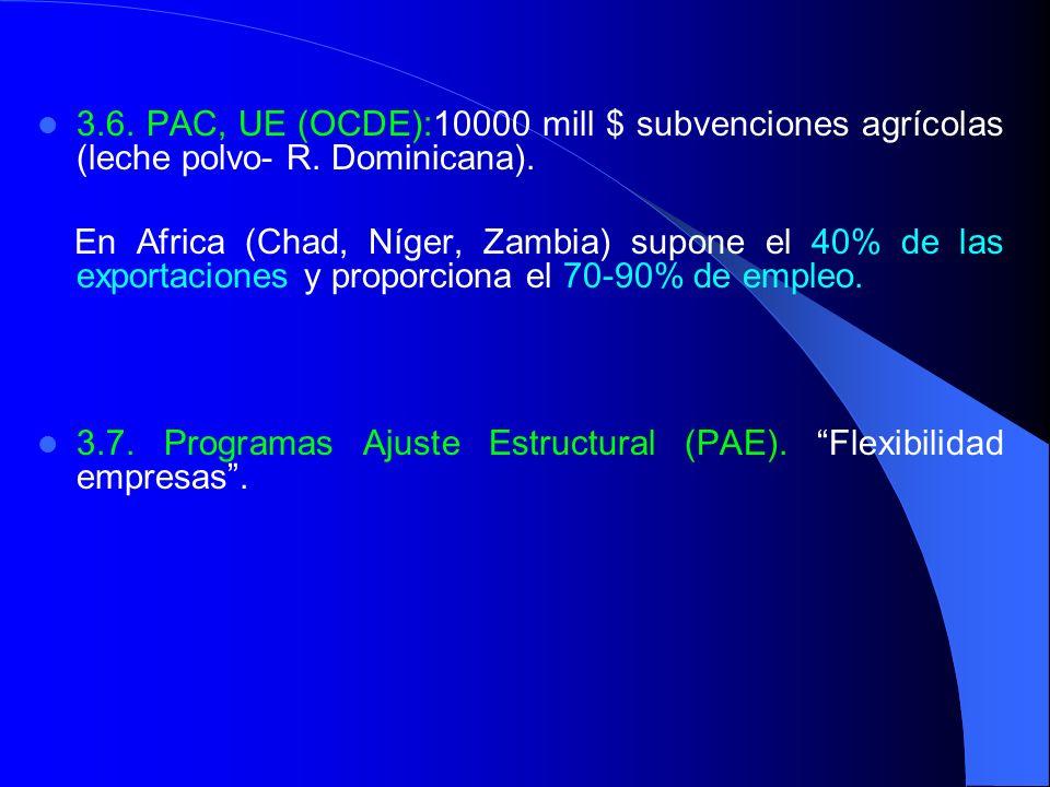 3.7. Programas Ajuste Estructural (PAE). Flexibilidad empresas .