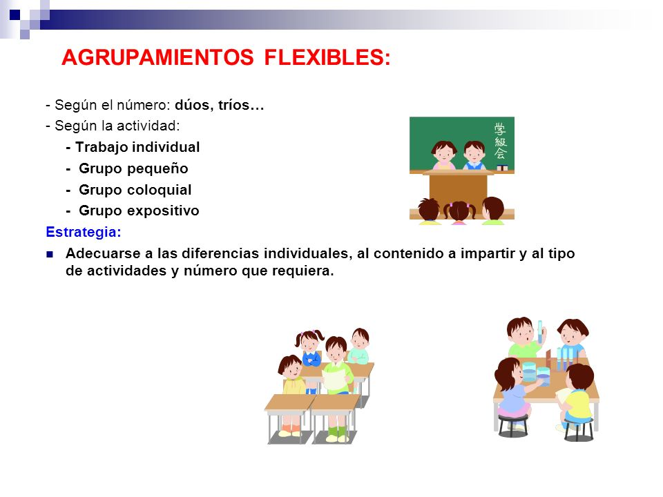 AGRUPAMIENTOS FLEXIBLES: