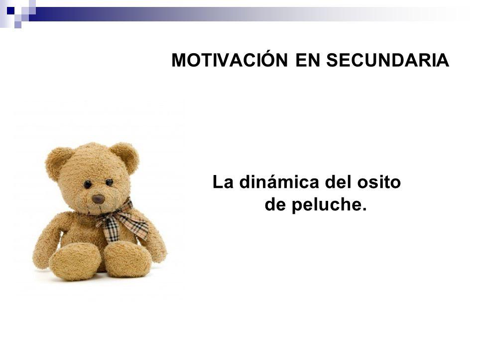 MOTIVACIÓN EN SECUNDARIA