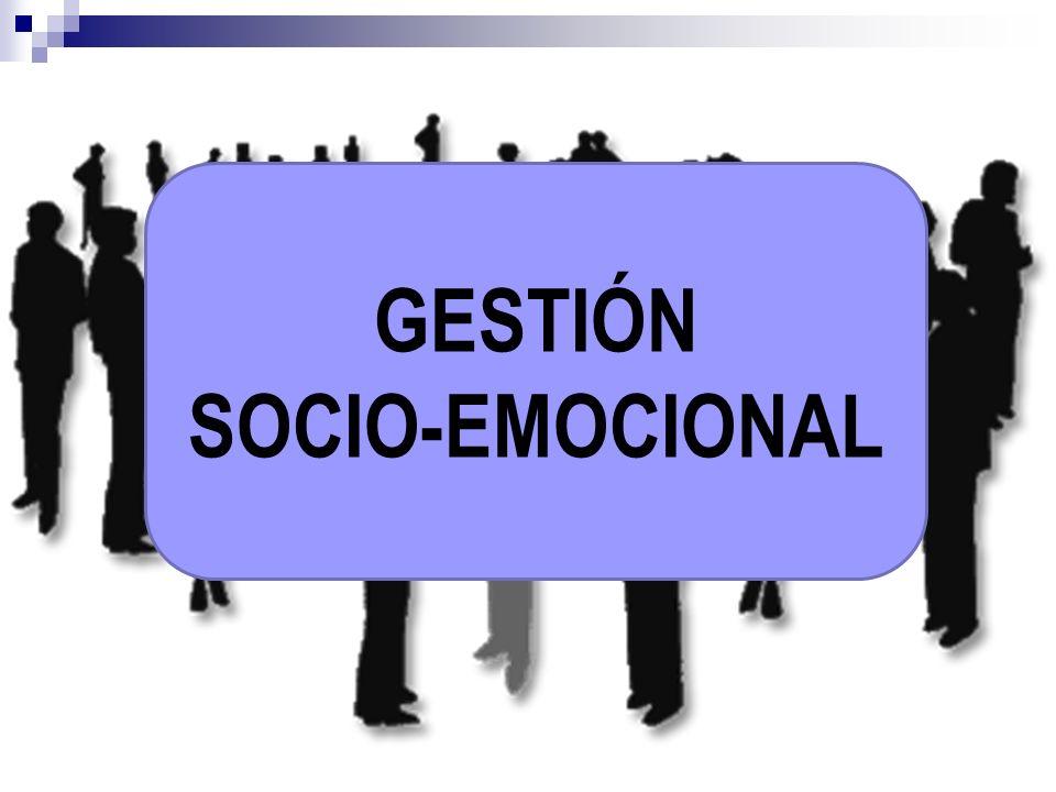 GESTIÓN SOCIO-EMOCIONAL