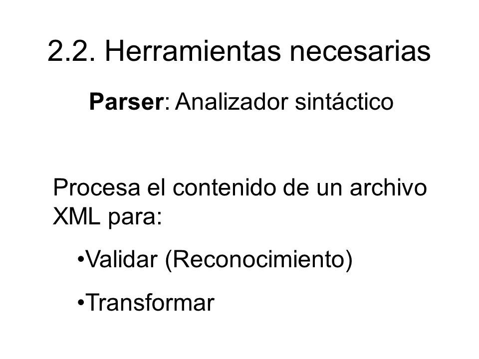 Taller de <?XML> Prof. Hilda Contreras - ppt descargar