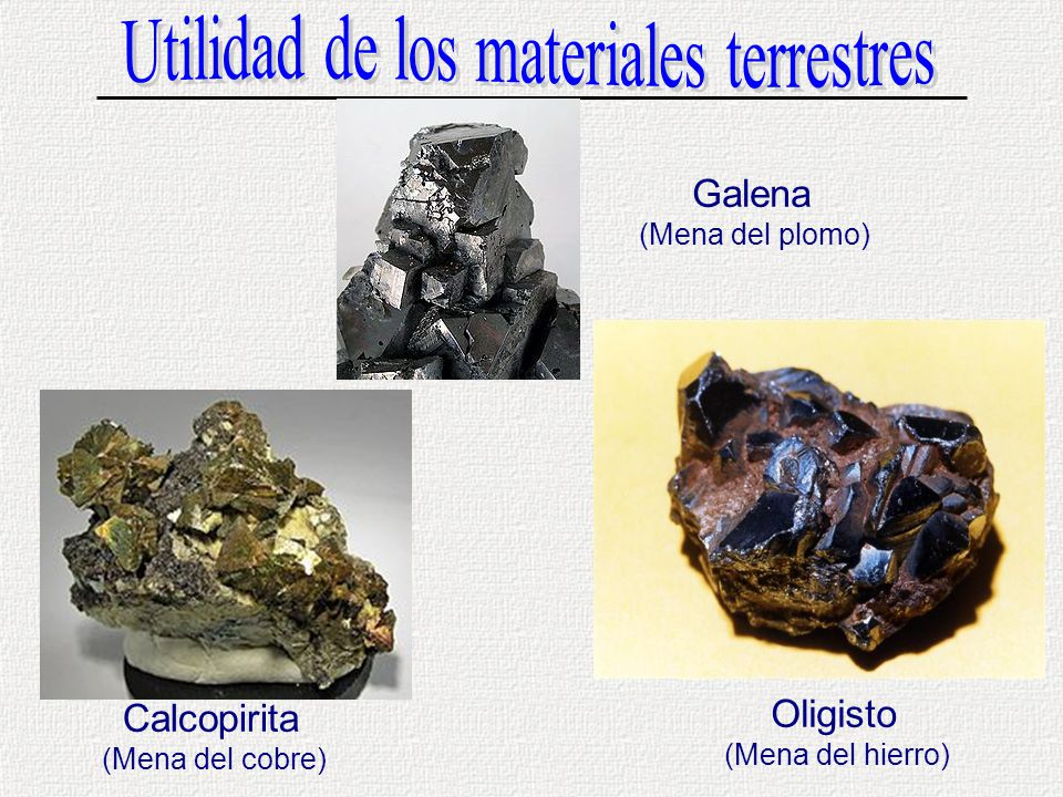 Materiales Terrestres Ppt Video Online Descargar