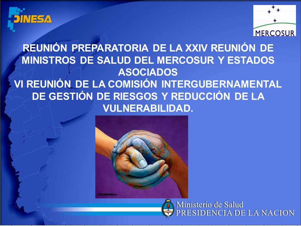 REUNIÓN PREPARATORIA DE LA XXIV REUNIÓN DE MINISTROS DE SALUD DEL MERCOSUR Y ESTADOS ASOCIADOS