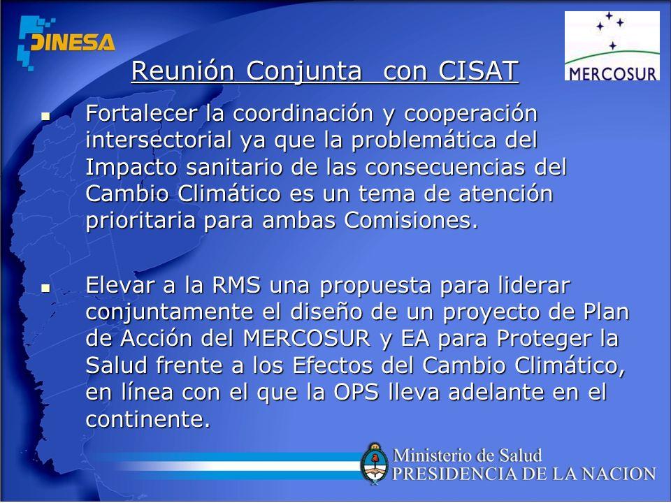 Reunión Conjunta con CISAT