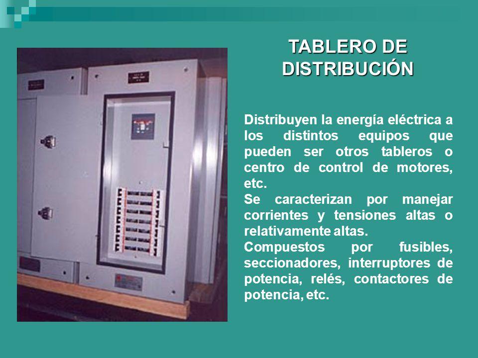 TABLERO DE DISTRIBUCIÓN