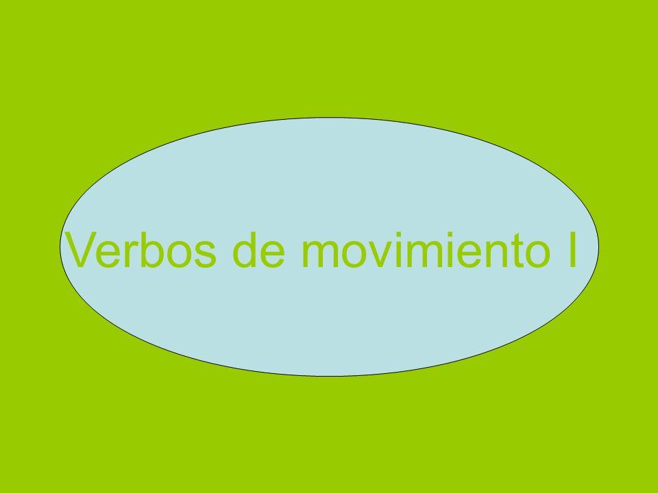 Verbos de movimiento I