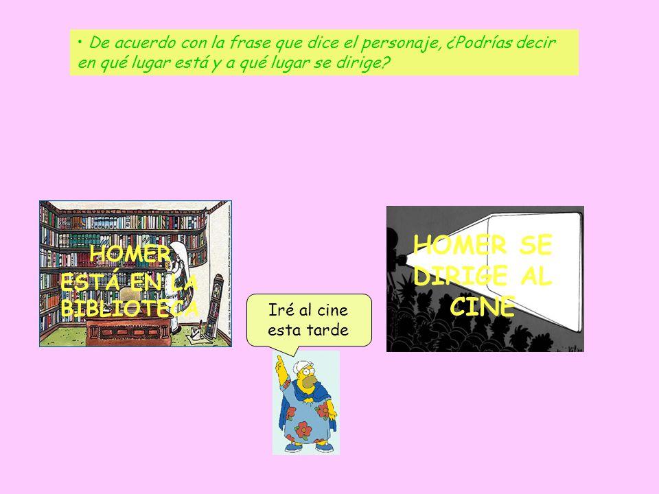 HOMER ESTÁ EN LA BIBLIOTECA