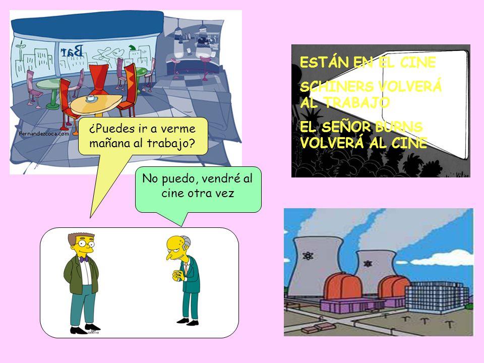 SCHINERS VOLVERÁ AL TRABAJO