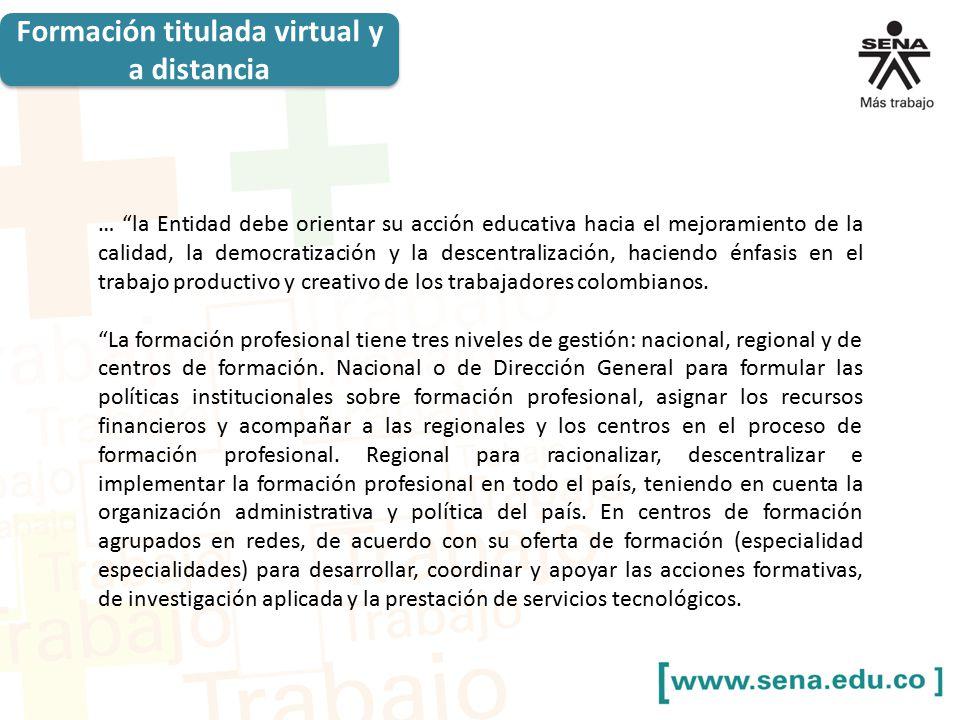 Formaci n en modalidad virtual y a distancia ppt descargar for Oficina virtual de formacion profesional para el empleo