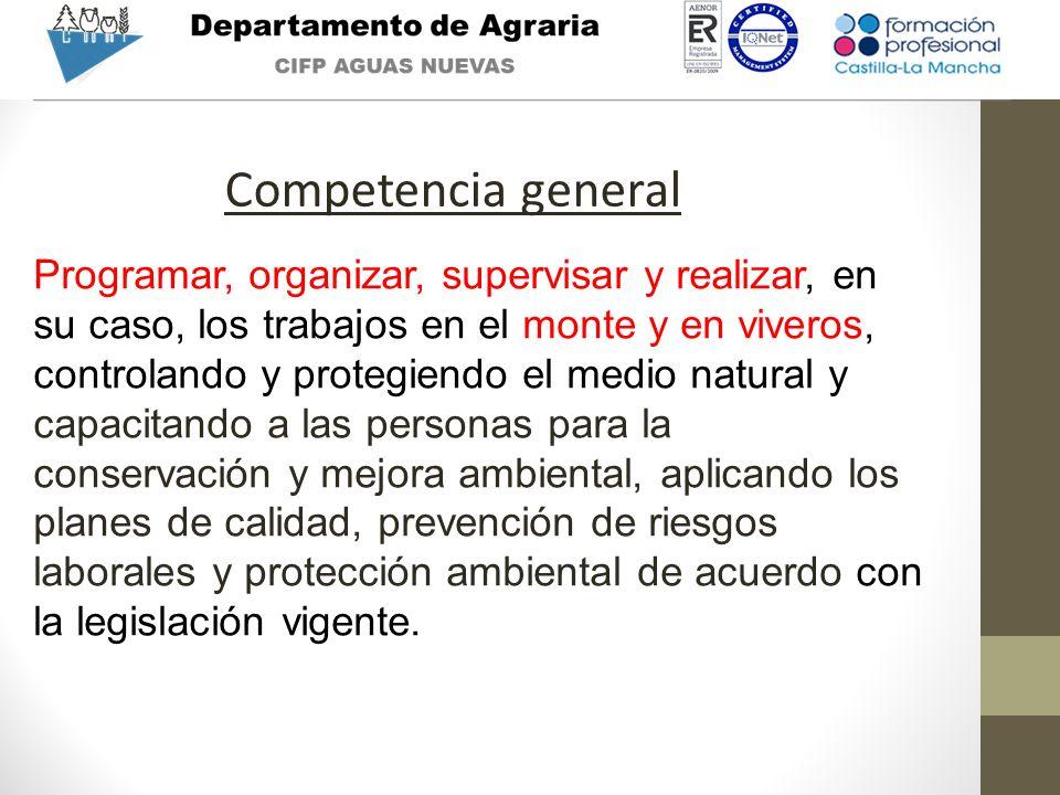 Competencia general