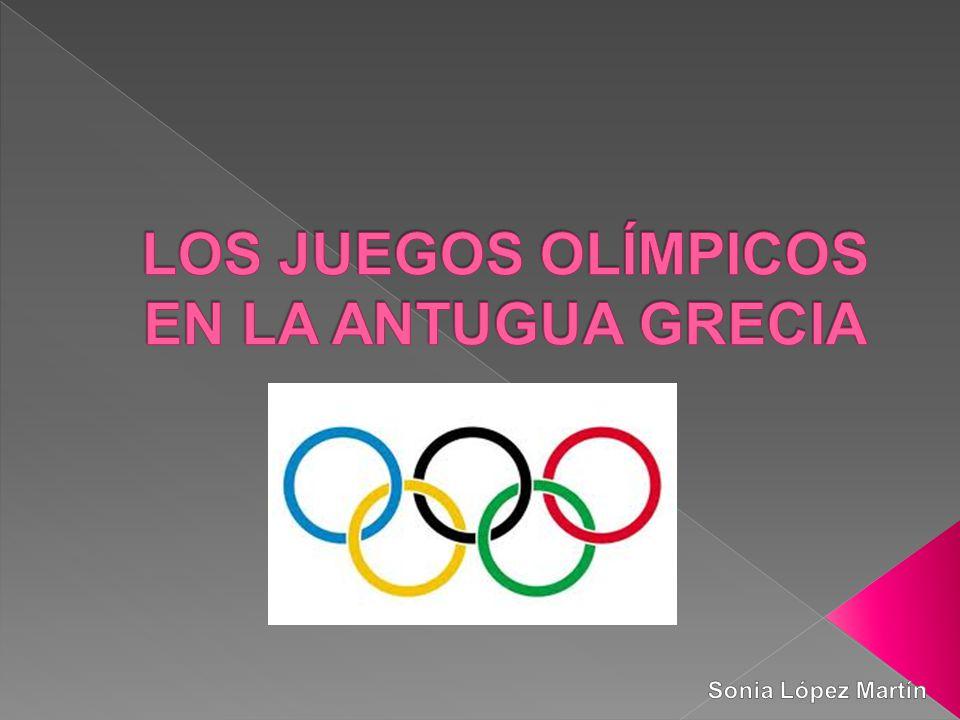 Los Juegos Olimpicos En La Antugua Grecia