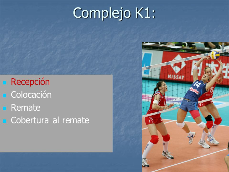 Complejo K1: Recepción Colocación Remate Cobertura al remate