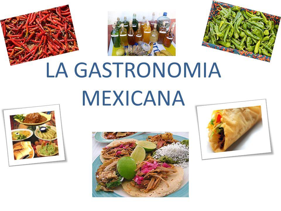 La gastronomia mexicana ppt video online descargar for Historia de la gastronomia pdf
