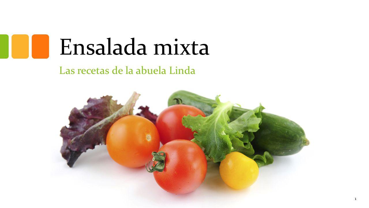 Las recetas de la abuela Linda