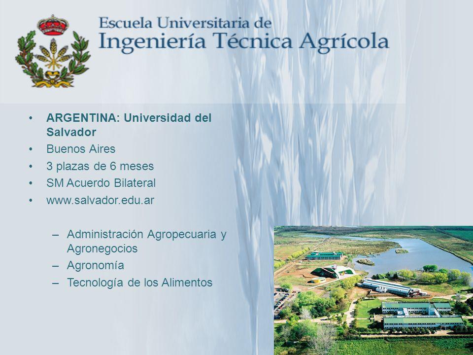 ARGENTINA: Universidad del Salvador