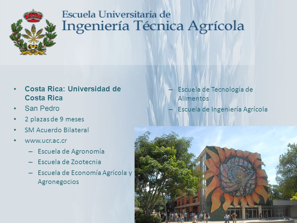 Costa Rica: Universidad de Costa Rica