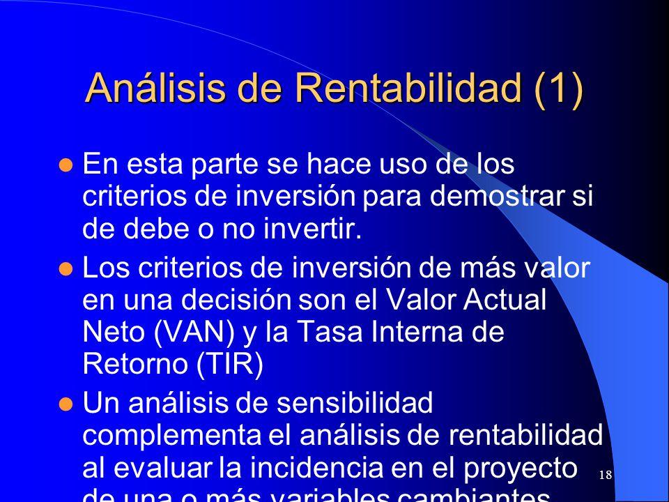 Análisis de Rentabilidad (1)