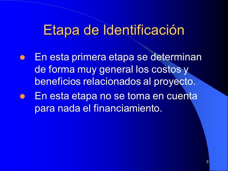 Etapa de Identificación