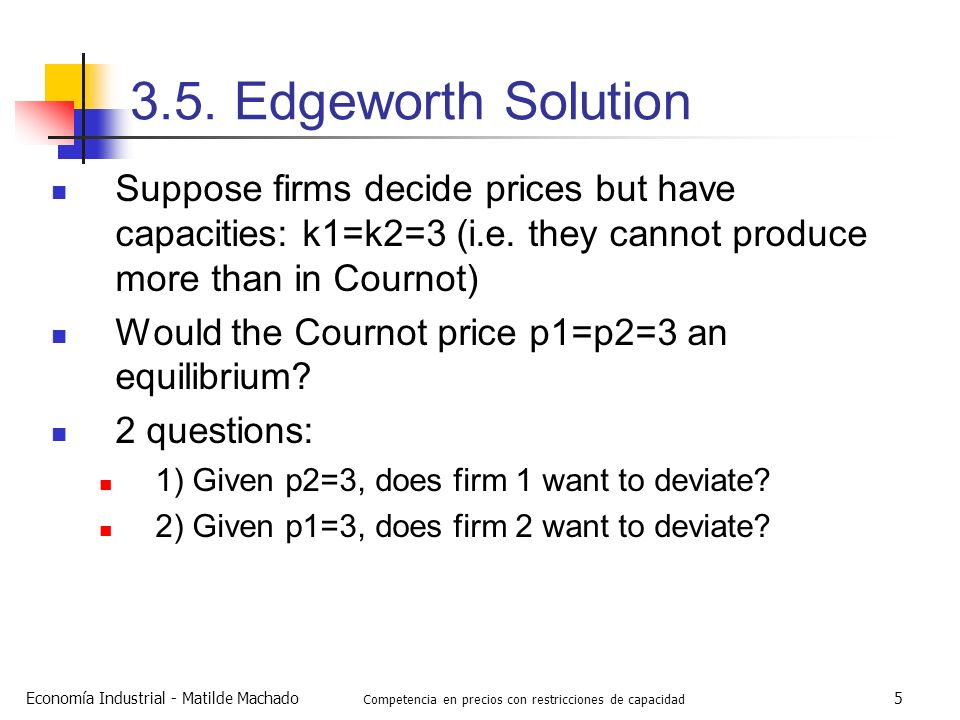 Competencia en precios con restricciones de capacidad
