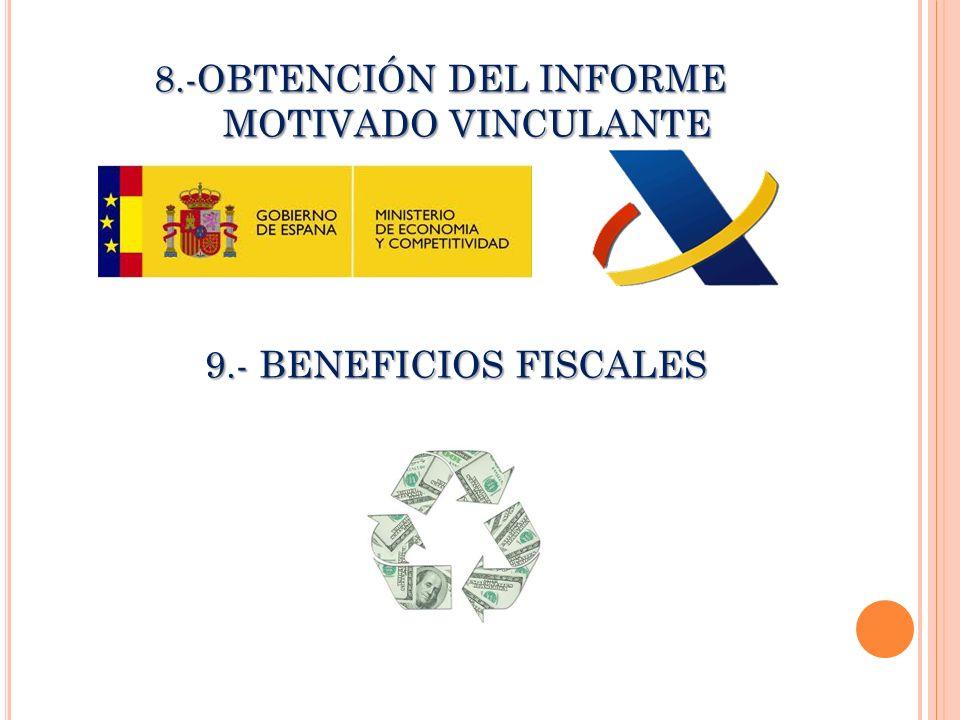 8.-OBTENCIÓN DEL INFORME MOTIVADO VINCULANTE