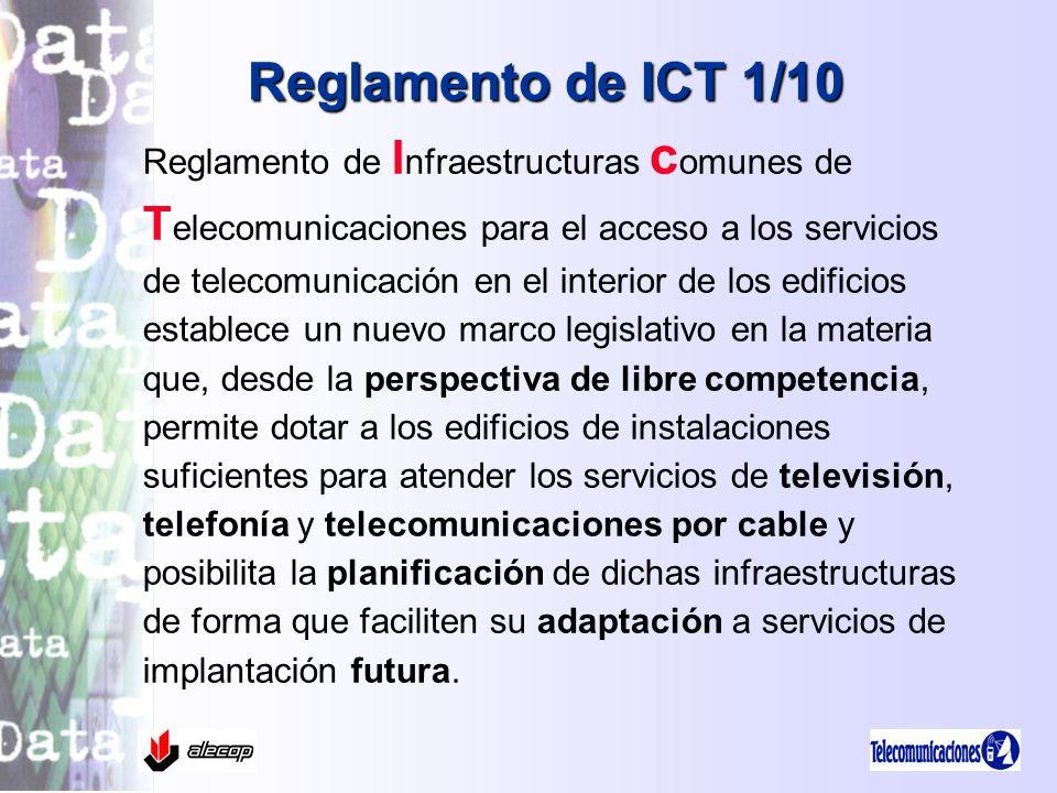 Reglamento de ICT 1/10