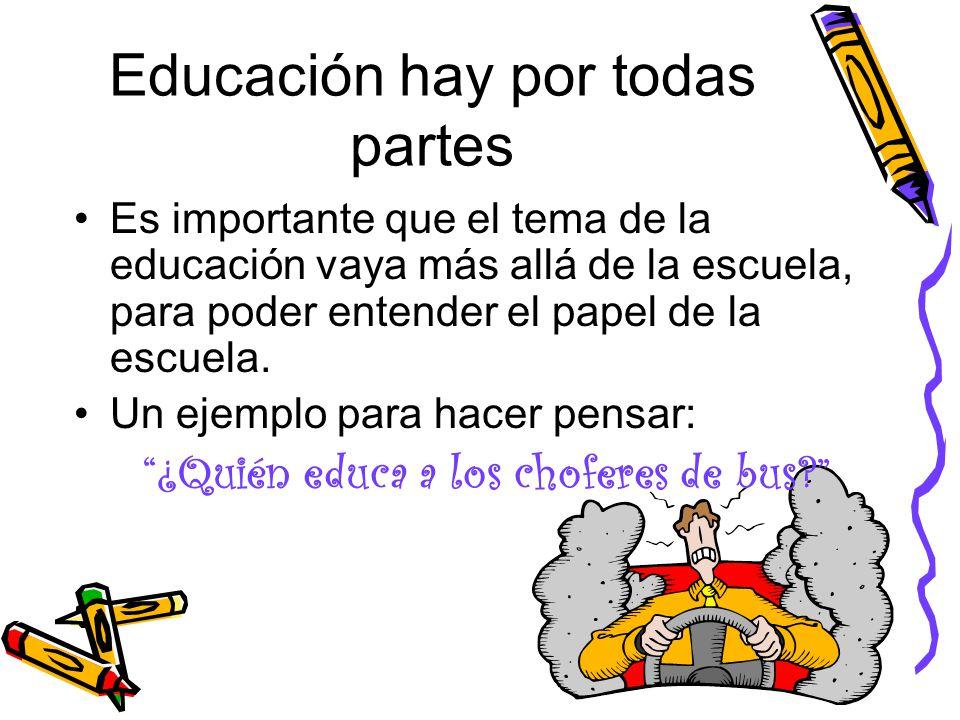 Educaci n en los medios de comunicaci n ppt descargar for Educacion para poder