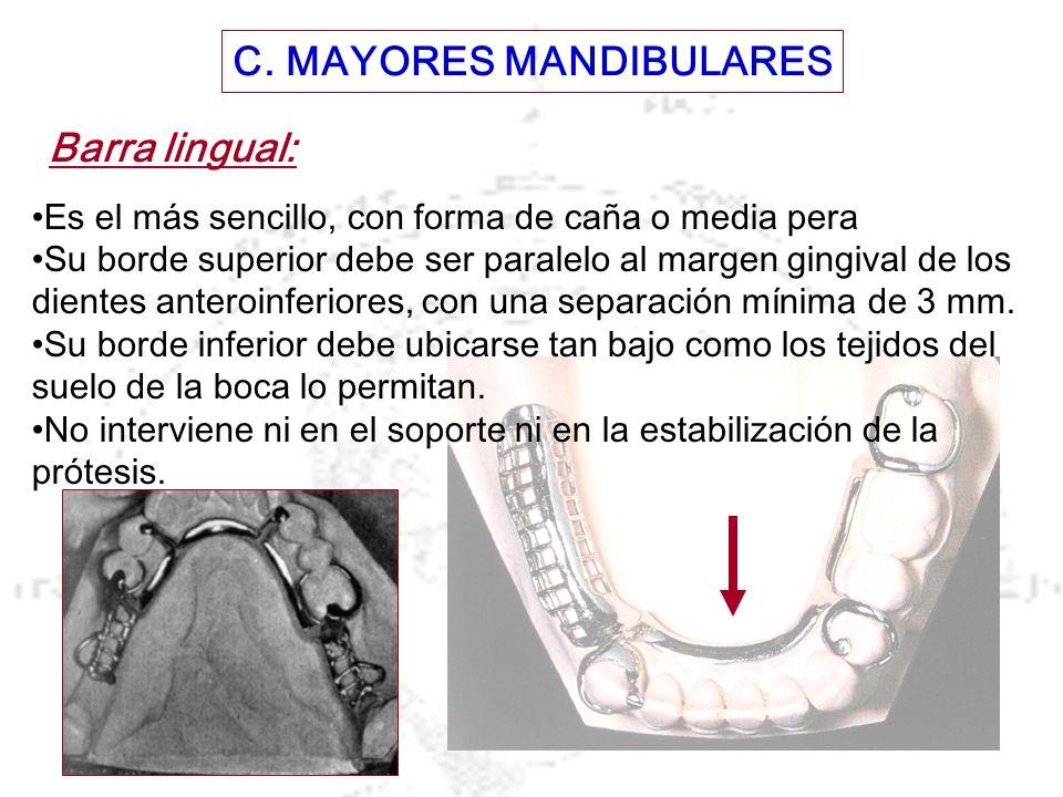 C. MAYORES MANDIBULARES