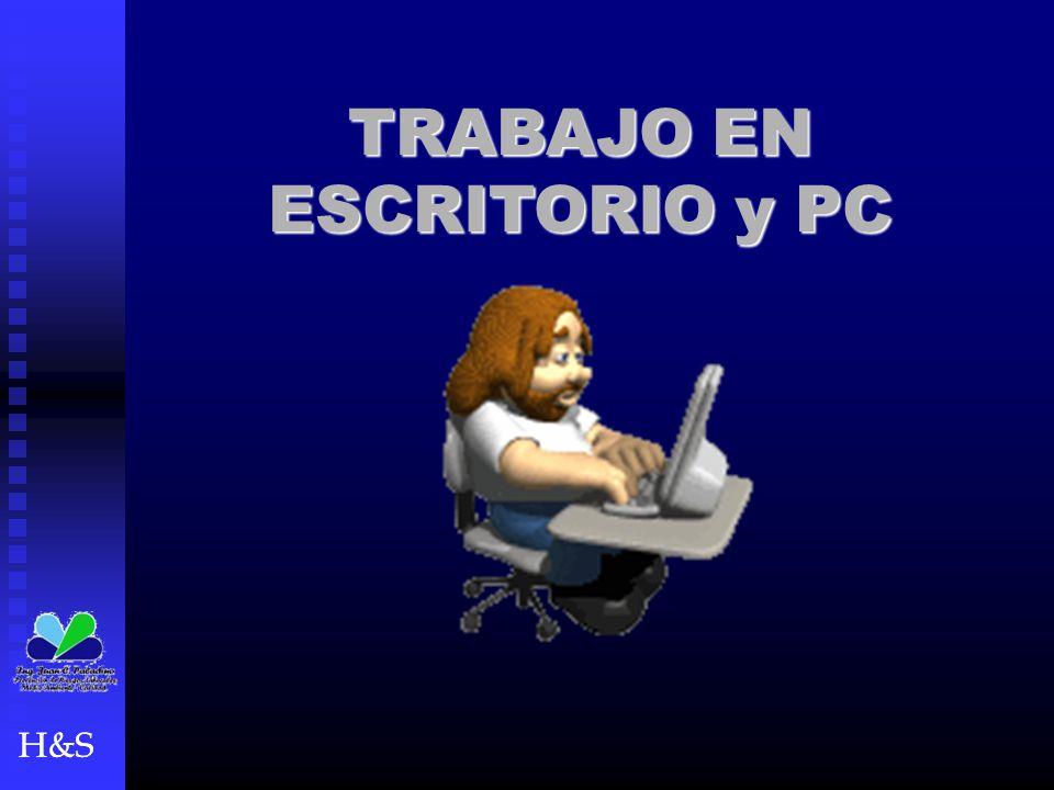 TRABAJO EN ESCRITORIO y PC
