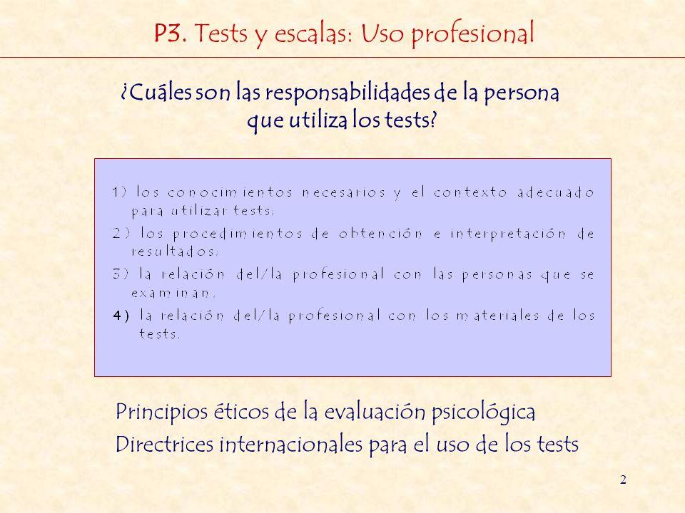 ¿Cuáles son las responsabilidades de la persona