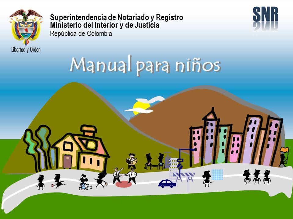 Superintendencia de notariado y registro ministerio del for Ministerio de interior y justicia direccion