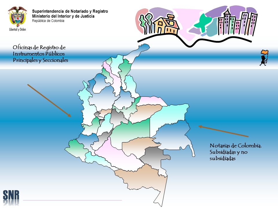 Superintendencia de notariado y registro ministerio del for Ministerio del interior y de justicia