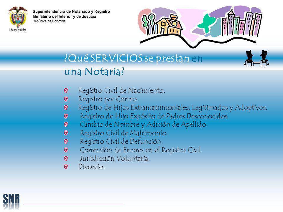 Registro Matrimonio Catolico Notaria : Superintendencia de notariado y registro ministerio del