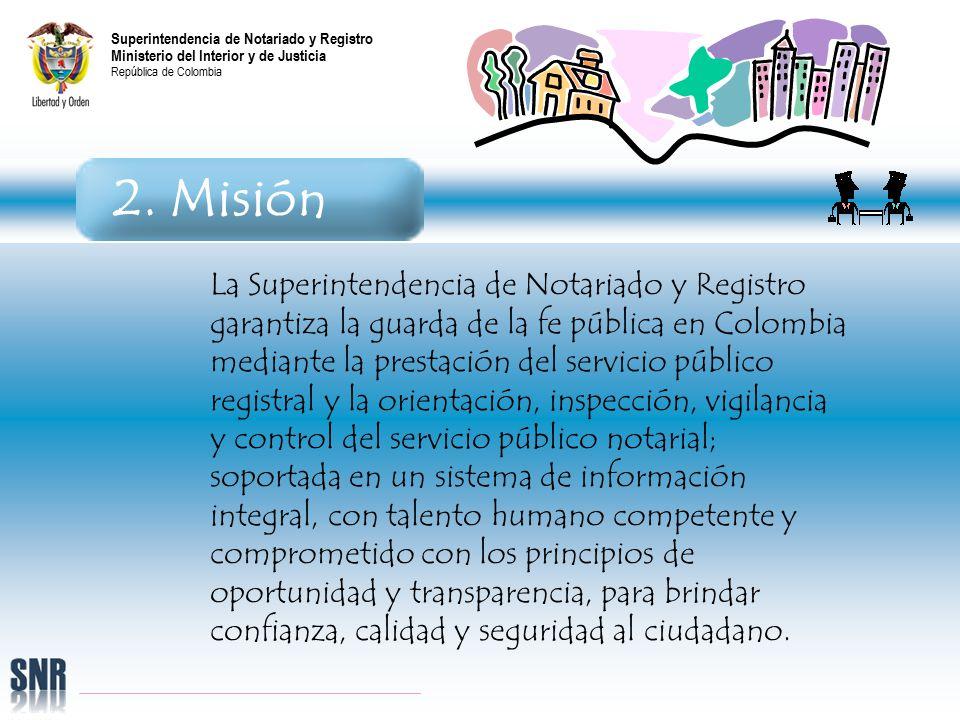 Superintendencia de notariado y registro ministerio del for Transparencia ministerio del interior