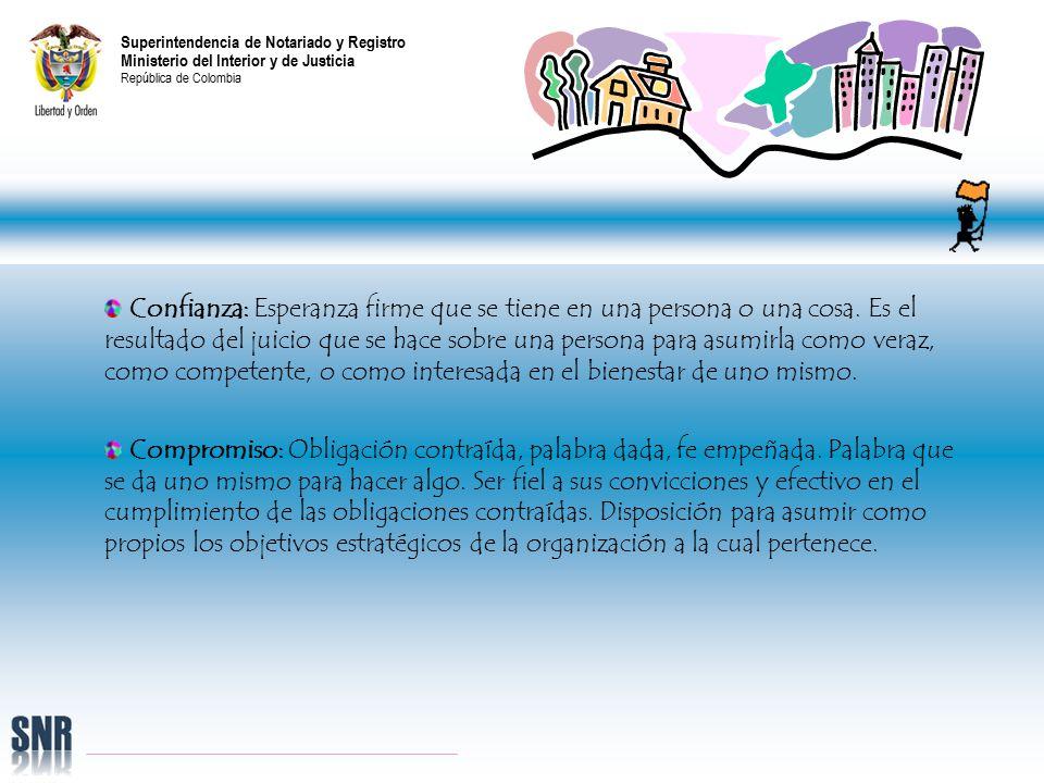 superintendencia de notariado y registro ministerio del