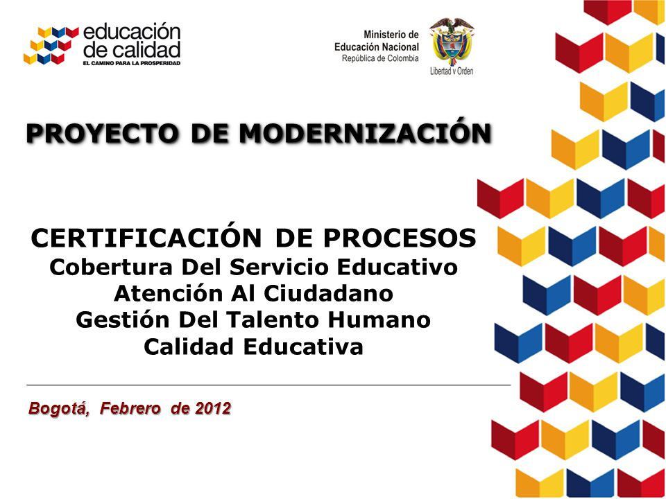 Proyecto de modernizaci n certificaci n de procesos ppt for Oficina de atencion al ciudadano