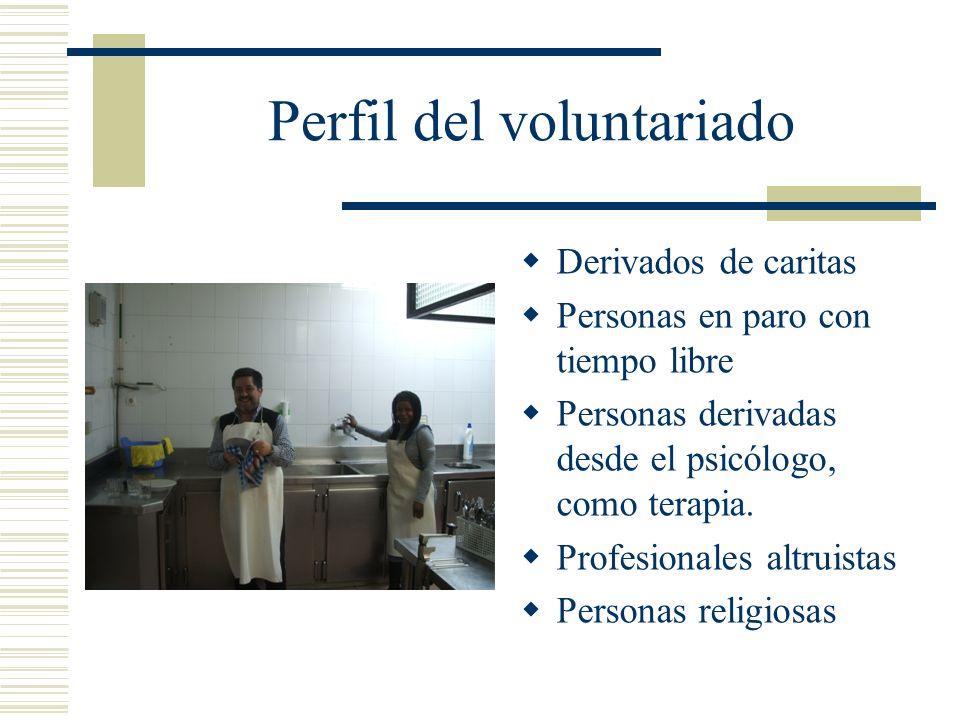 Perfil del voluntariado