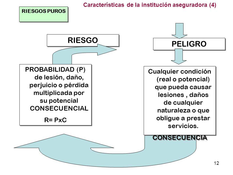 Características de la institución aseguradora (4)