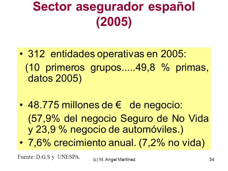 Sector asegurador español (2005)
