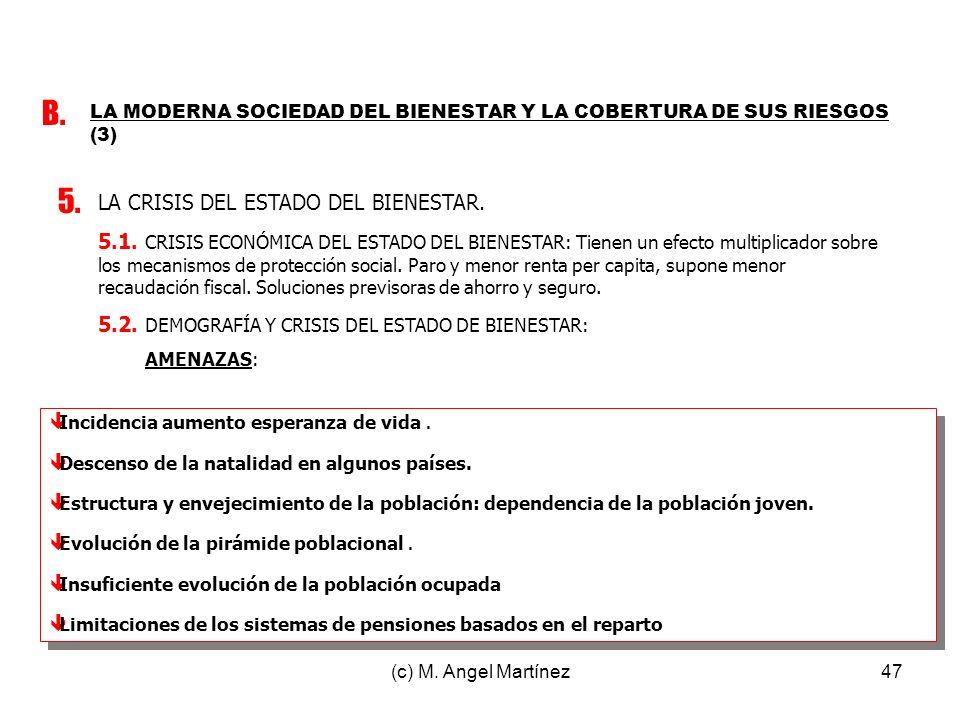 B. 5. LA CRISIS DEL ESTADO DEL BIENESTAR.